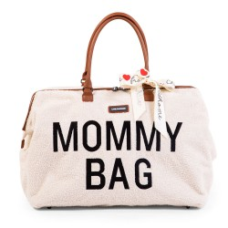 Childhome Torba Mommy Bag Teddy Bear White (Limited Edition)